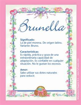 Nombre Brunella