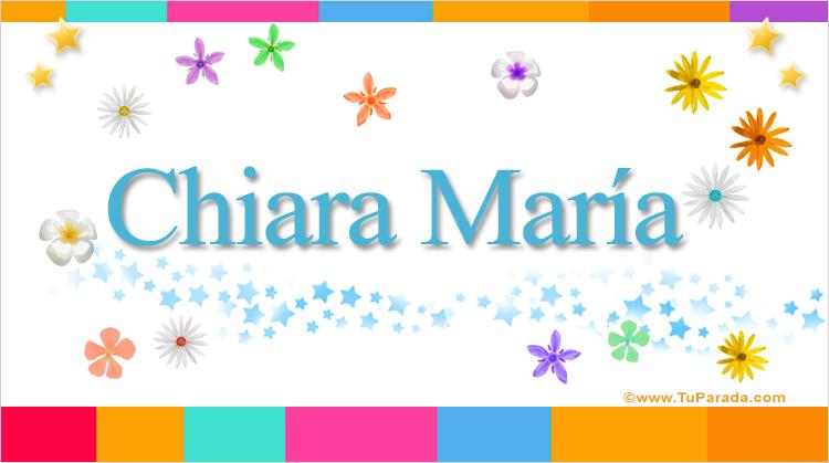 Chiara María, imagen de Chiara María