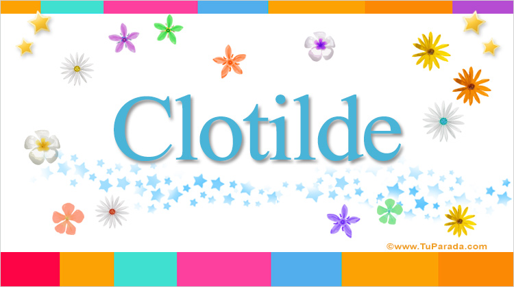 Clotilde, imagen de Clotilde