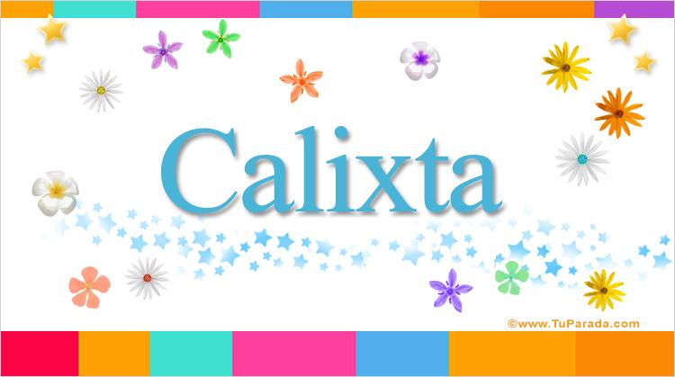 Calixta, imagen de Calixta