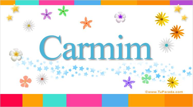 Carmim, imagen de Carmim