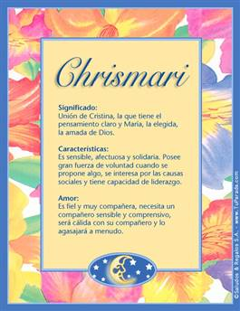 Nombre Chrismari