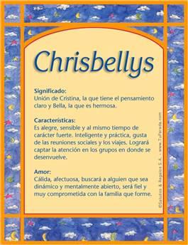 Nombre Chrisbellys