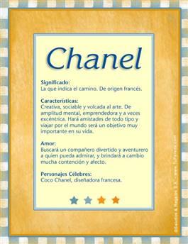 Nombre Chanel