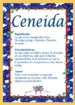 Ceneida