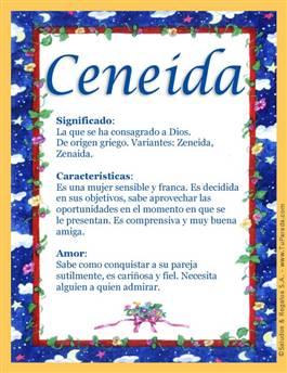 Nombre Ceneida