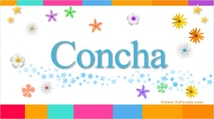 Concha, imagen de Concha