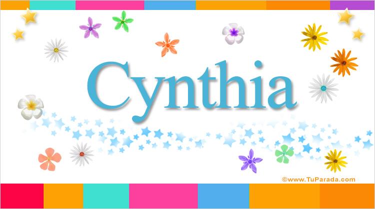 Cynthia, imagen de Cynthia