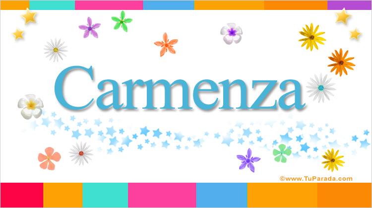 Carmenza, imagen de Carmenza