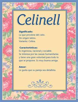 Nombre Celinell