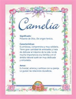Nombre Camelia