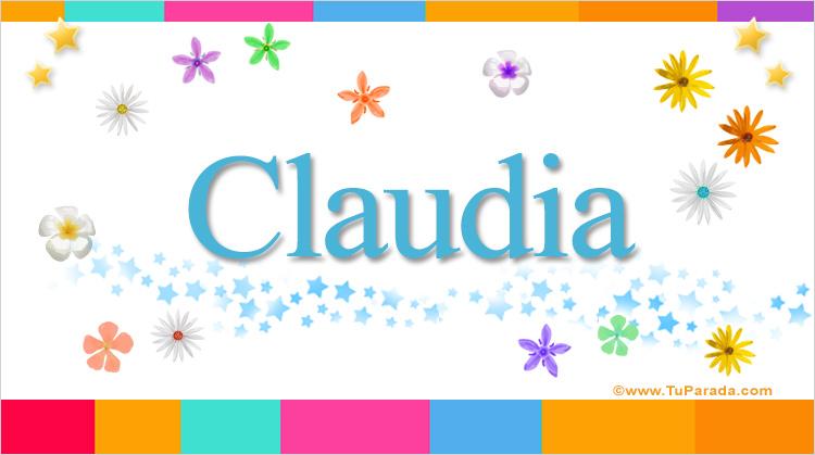 Claudia, imagen de Claudia