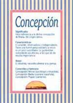 Nombre Concepción