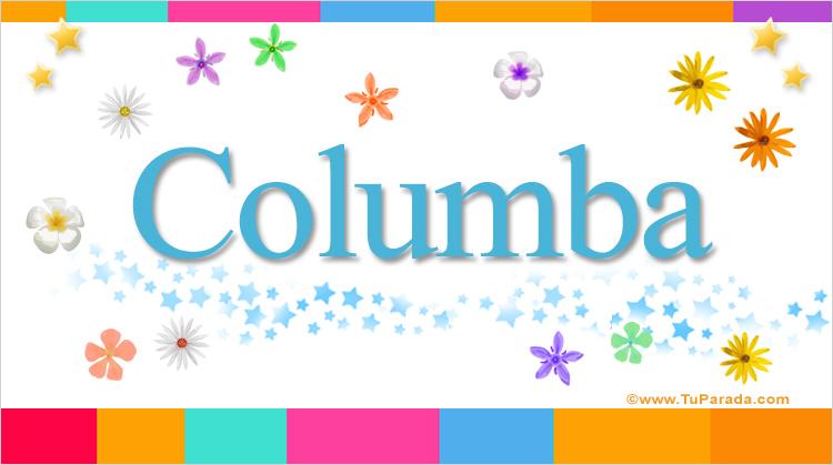 Columba, imagen de Columba