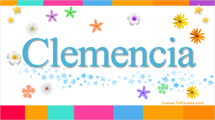 Clemencia, imagen de Clemencia
