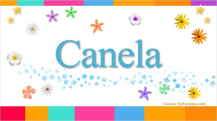 Canela, imagen de Canela