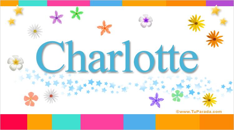 Charlotte, imagen de Charlotte