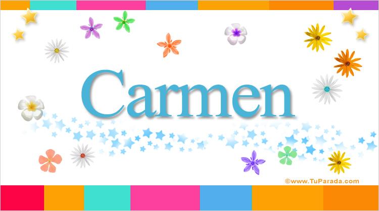 Carmen, imagen de Carmen