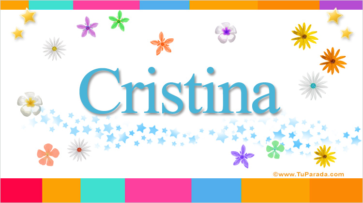 Cristina, imagen de Cristina