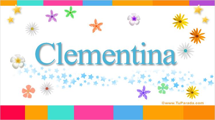 Clementina, imagen de Clementina