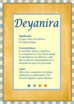 Nombre Deyanira