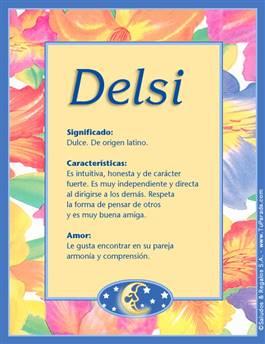 Nombre Delsi