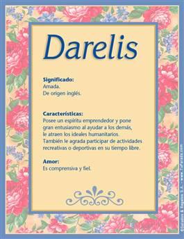 Nombre Darelis