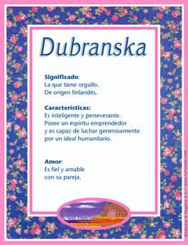 Nombre Dubranska