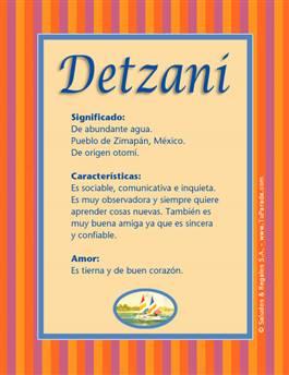 Nombre Detzani