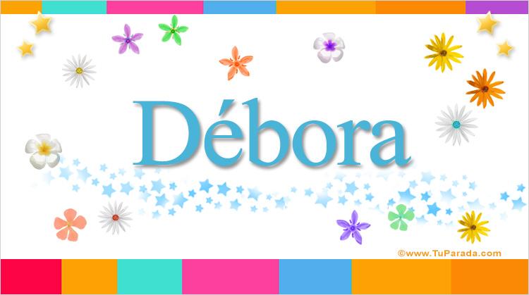 Débora, imagen de Débora
