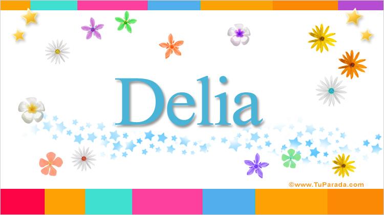 Delia, imagen de Delia