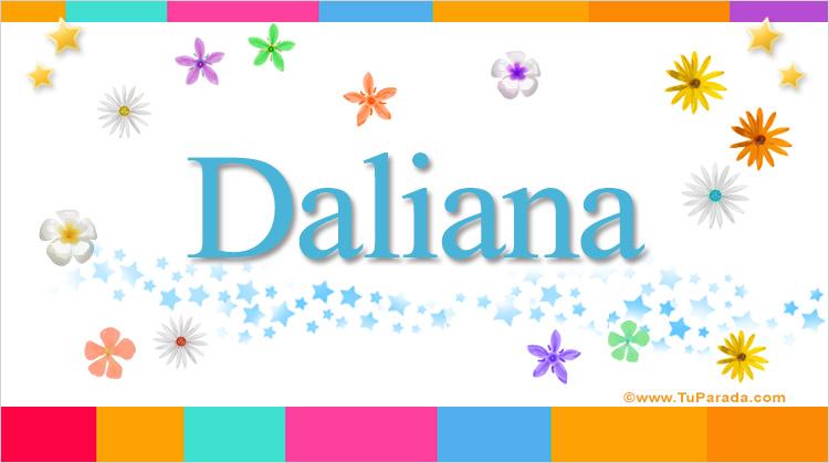 Daliana, imagen de Daliana