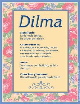 Nombre Dilma
