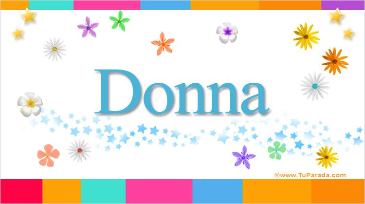Donna, imagen de Donna