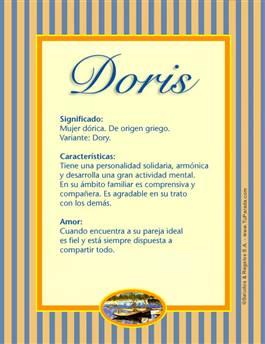 Nombre Doris