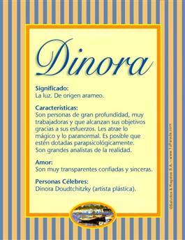 Nombre Dinora