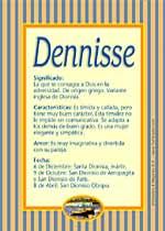 Nombre Dennisse