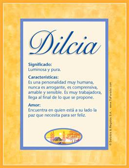 Nombre Dilcia
