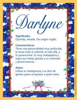 Nombre Darlyne