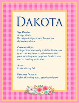 Nombre Dakota