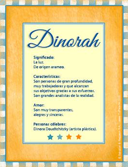 Nombre Dinorah