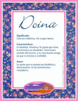 Nombre Doina