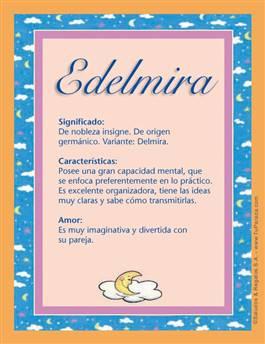 Nombre Edelmira