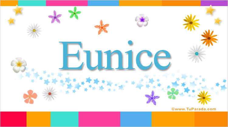 Eunice, imagen de Eunice