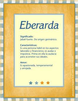 Nombre Eberarda