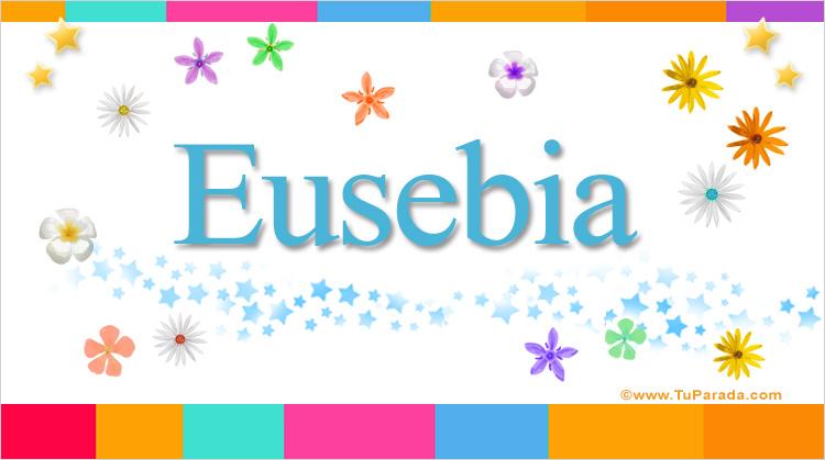 Eusebia, imagen de Eusebia