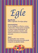 Nombre Egle