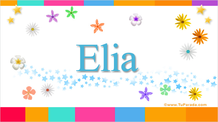 Elia, imagen de Elia