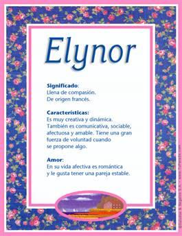 Nombre Elynor