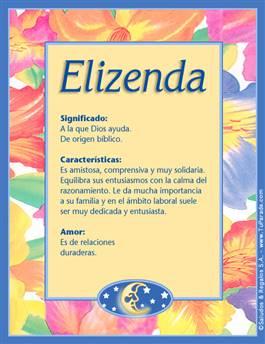 Nombre Elizenda